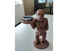 Monkey Butler Ring Holder