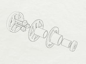 Dynamic Diameter Spool Holder