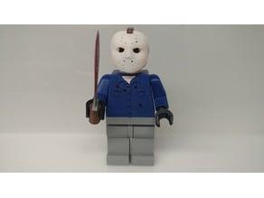 Giant Lego Jason Voorhees