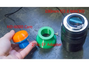 2 Inch to Canon EF Mount Adapter
