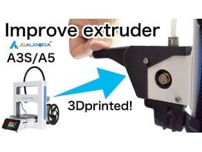 JG Aurora A3S A5 Extruder lever