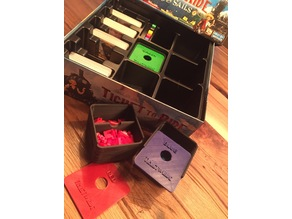 Ticket to Ride Play pieces box with slide lid