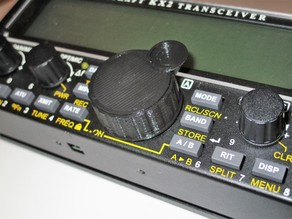 "Yet Another KX2 ""VFO A"" Tuning Knob"