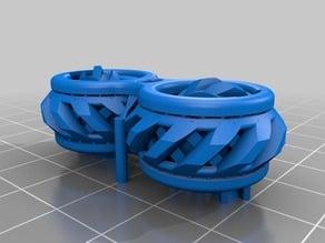 Fidget Gears Revolving V2 Print-in-Place