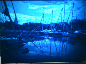 Lithophane - harbour Antibes