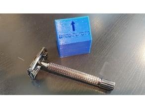 Used Double Edge Razor Blade Discard Box