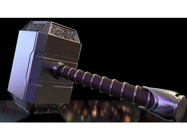 Thors hammer 3d printed