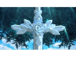 Sword Art Online: Alicization - Eugeo Blue Rose Sword 1:1 Assembly (Normal Size) with Sheath