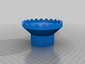 """2"""" PVC Outlet Weir for Aquaponics"""