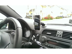 Remix Parts: Fiat 500 / Abarth / Alfa Romeo Phone Mount for GPS plug