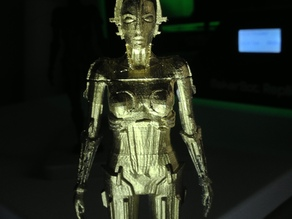 Metropolis Robot (Maria) with Rings