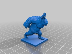 An ogre's goblin friend