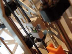 K8200/3Drag GT2 Y Tensioner for raised Y axis mod (12mm raise)