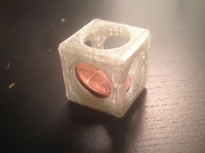 Penny Trap with TInkercad or OpenSCAD