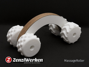 MassageRoller (cnc + fdm)