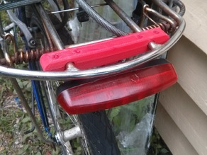 Luggage Rack bracket for rear/tail light