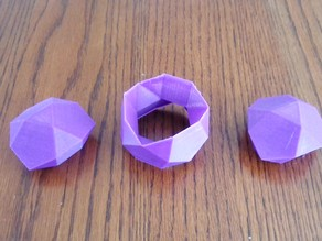 Icosidodecahedron Pieces