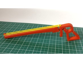 Simple Rubber Band Gun