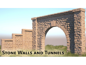 Stone Walls and Tunnel | D1