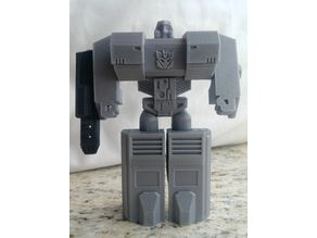 Transformable Megatron (single print, no support material)