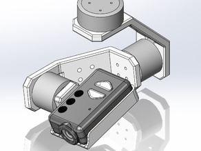 Mobius Action Camera 3-Axis Gimbal