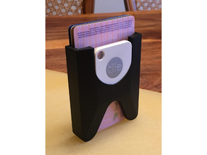 Stacking card holder (with Tile)