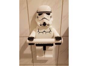 Lego Stormtrooper Toilet paper holder