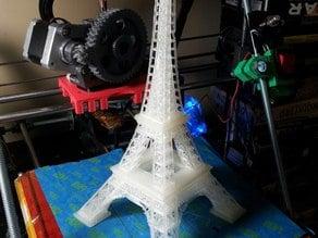 Eifel Tower, Split into 4 parts