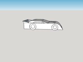 latemodel race car