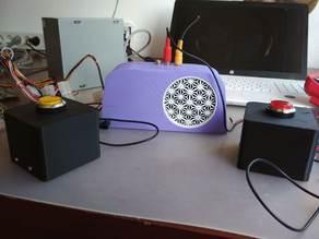 Caja para carrera de LED / Caixa para carreira de LED/Open LED Race