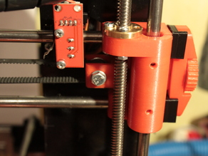Prusa I3 Steel Full X Axis with Anty-Wibrate Motor Mount