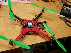 'DD' aka Dan's Drone - Simple Acrobatic Quadcopter