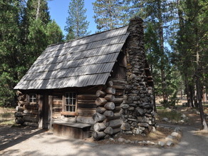 Yosemite Mountaineers Cabin photoscan