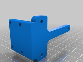 Cyclops (2 in/1 out) Mount for Aluminum Tarantula X Carriage/Openbuild