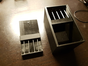 Puzzle Box V2, opened with Centripetal Force