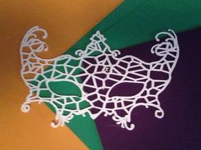 Voronoi Venetian Mask