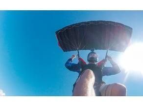 GoPro Shoe Mount Skydiving