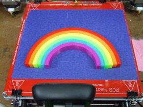 A 6-piece rainbow