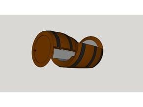 MTG Deck Box Barrel (V7)