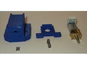 Micro Metal Gear Motor + Encoder Case and Wheel