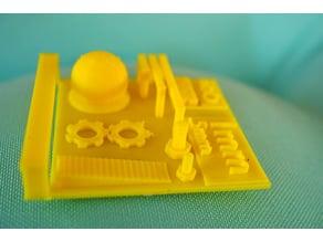 Nano 3D Print Test
