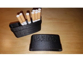 BAMF Cigarette Case (remix)