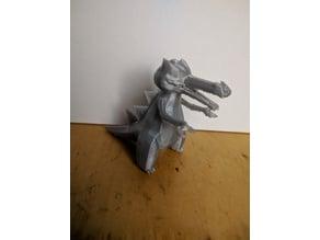 Krookodile - 3D Print Ready