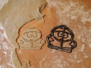 Cartman Cookie Cutter