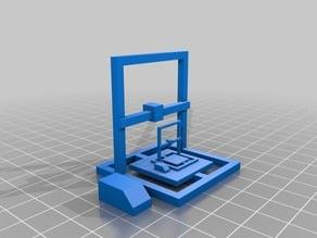 Cr 10 3D Printer Model - With Second Mini