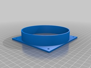 My Customized Duct/Pipe Adaptor 120mm fan to 120mm