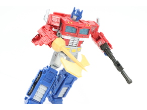 Battle axe for Siege Optimus Prime