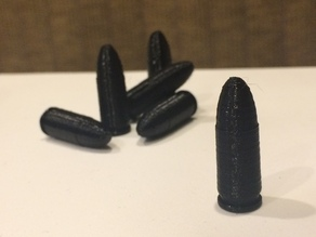 9mm Bullet Replica (High Res)