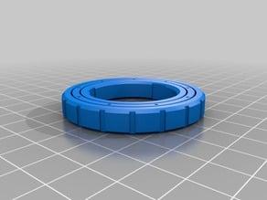 My Customized Parametric Caged Ball Bearing