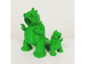 Godric the Tiny Godzilla